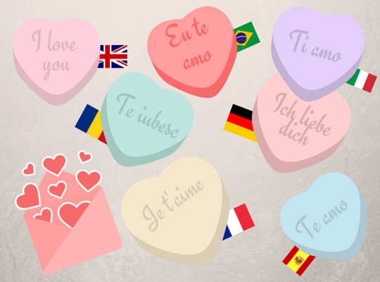'I love you' in many languages