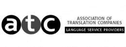 Association of Translation Companies - Language service providers